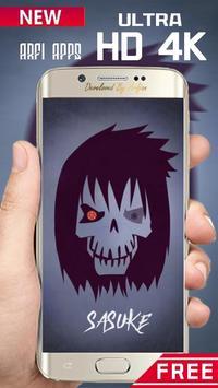 Naruto Skulls Wallpaper Ultra HD 4K screenshot 3