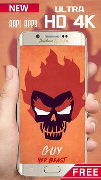 Naruto Skulls Wallpaper Ultra HD 4K screenshot 6