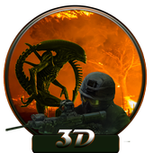 Assault Alien Crush Zone 3D icon