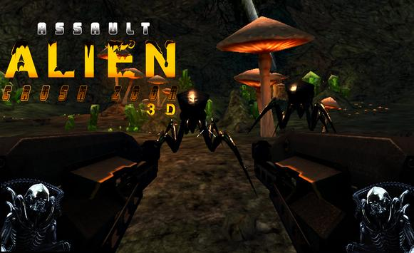 Assault Alien Crush Zone 3D apk screenshot