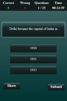 Indian National Movement Quiz screenshot 13