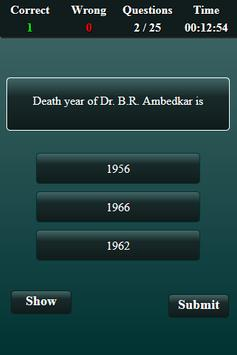Indian National Movement Quiz screenshot 2