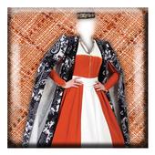 Nationality Dress Photomontage icon