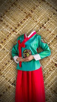 Nationality Dress Photomontage poster