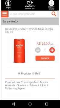 Pedidos Natura screenshot 2