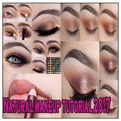 Natural makeup tutorial icon