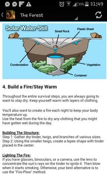 Nature Survival poster