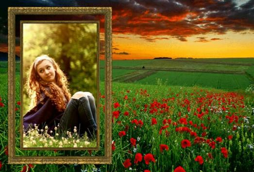 Nature Frames Photo Editor poster