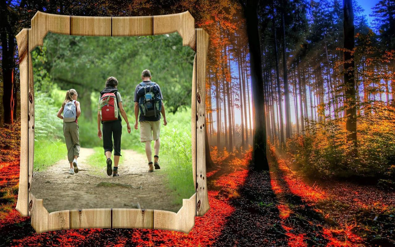 Nature frames photo editor apk download free photography - Nature wallpaper editor ...