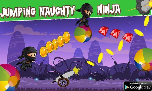 jumping naughty ninja game screenshot 5