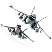 Defender from planes icon