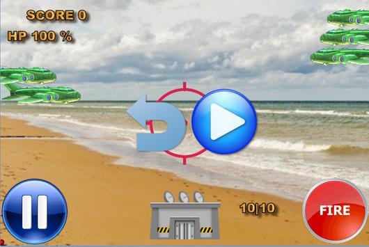 Defender from planes apk screenshot