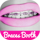 Braces Teeth Booth Pro Camera icon