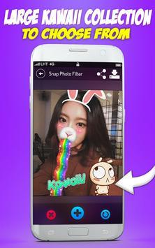 Cute Selfie Cam Photo Stickers screenshot 14