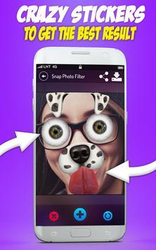 Cute Selfie Cam Photo Stickers screenshot 15