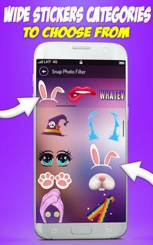 Cute Selfie Cam Photo Stickers screenshot 8