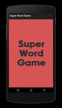 Super Word Game - Mind Game poster