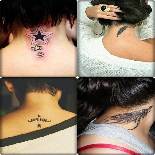 Tatuaż Neck Dla Pomysłów Dziewczyny For Android Apk Download