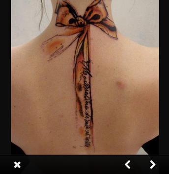 Neck Tattoo For Girl Ideas screenshot 5