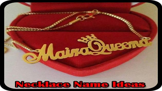 Necklace Name Ideas apk screenshot