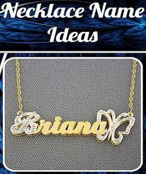 Necklace Name Ideas poster