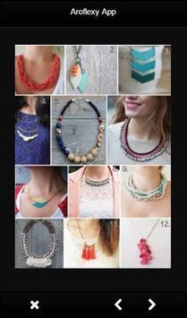 DIY Necklace Tutorials apk screenshot