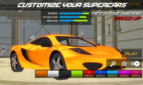 Need For Driving: Speed Up screenshot 1