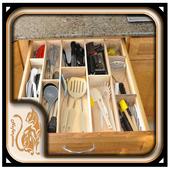 DIY Cutlery Storage Design icon