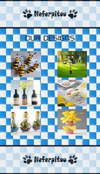 DIY Bottle Crafts Design Ideas poster