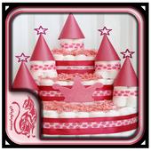 DIY Diaper Cake Design Ideas icon