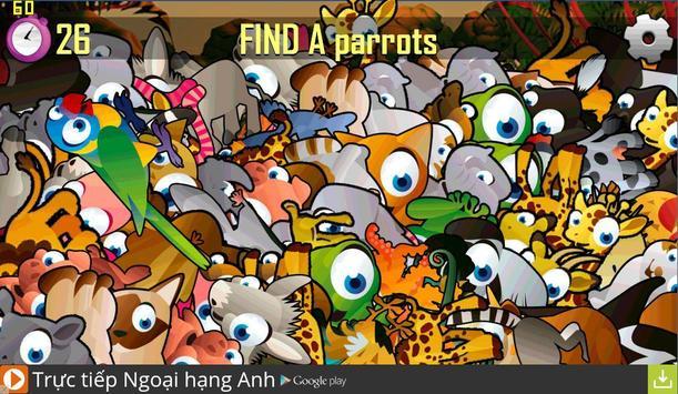 Find Hidden Animal poster