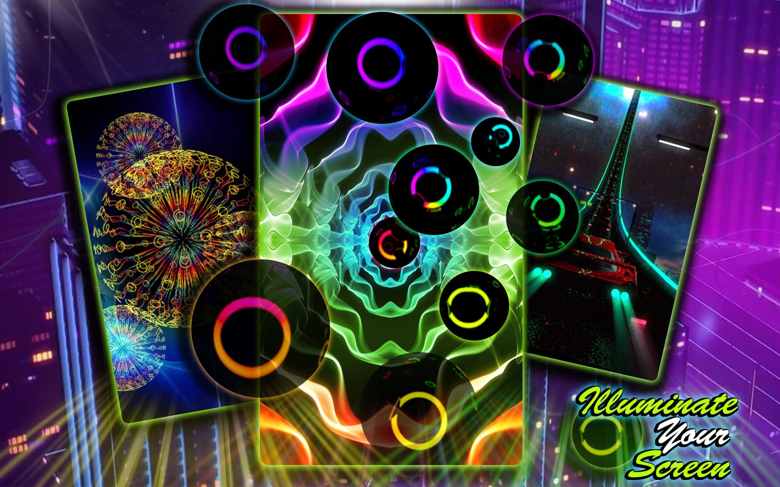 Wallpaper Neon Hidup 📱 Gambar Animasi For Android APK