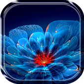 Neon Flower Live Wallpaper icon