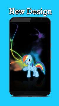 Neon MLP Wallpaper screenshot 3