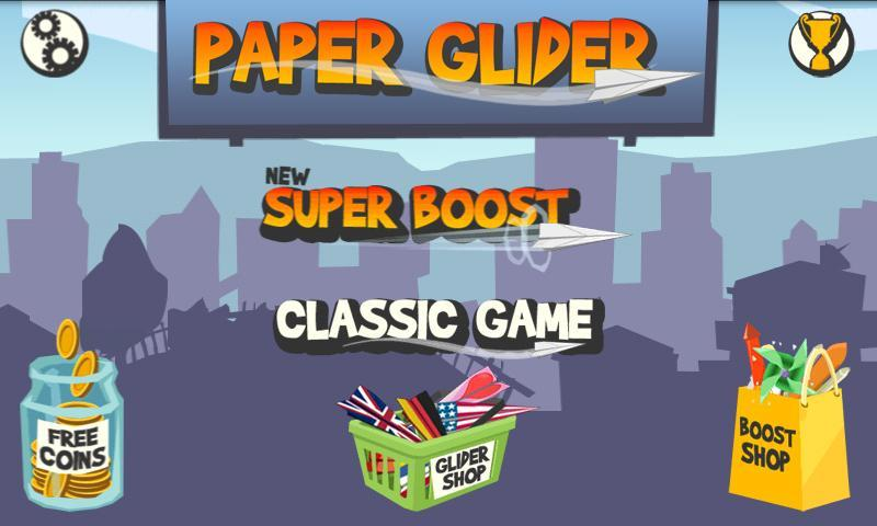 Paper Glider for Android - APK Download