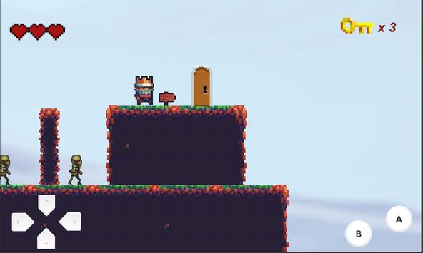 The Fallen King - 2D Platformer screenshot 5