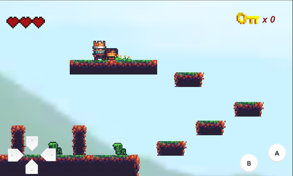 The Fallen King - 2D Platformer screenshot 1
