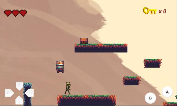 The Fallen King - 2D Platformer screenshot 2