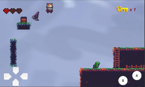 The Fallen King - 2D Platformer screenshot 3