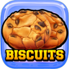 Biscuits Cookies Click icon