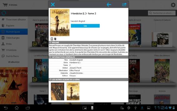 bdBuzz : BD Comics Manga apk screenshot