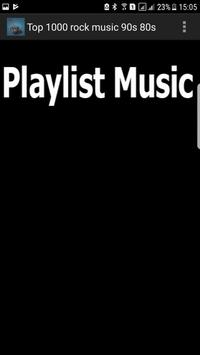 Top 1000 - Best Hits ever 90s 80s 00s rock music apk screenshot