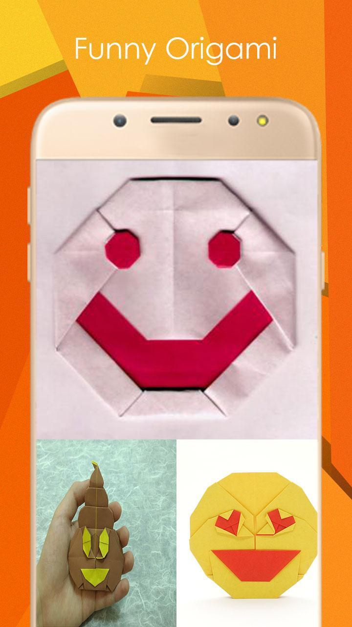 Открытка эмоджи оригами