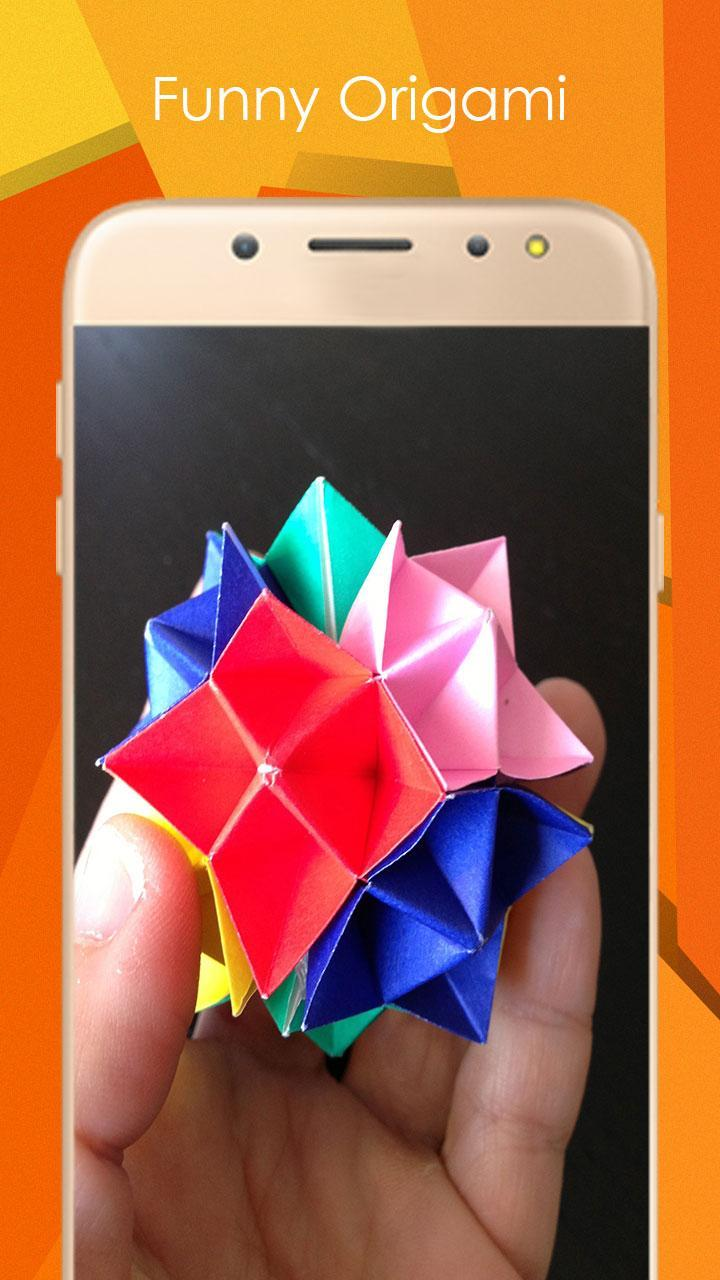 Origami Spike Ball poster