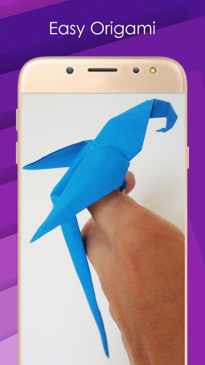 3D Origami Parrot by CD3DArt on DeviantArt   1280x720