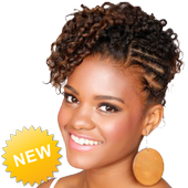 New African Beauty Hairstyle icon