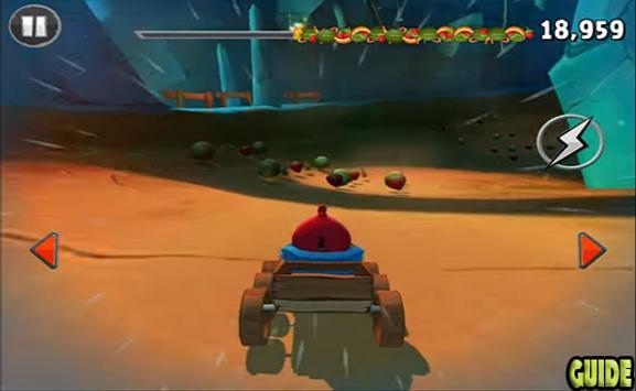 New Angry Birds Go Tricks screenshot 1