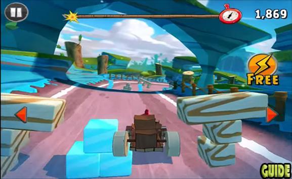New Angry Birds Go Tricks screenshot 2