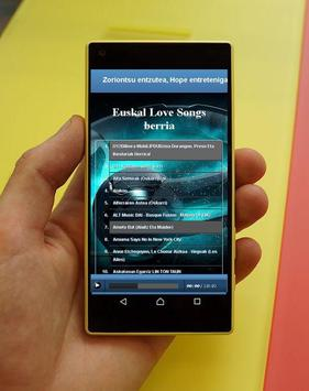 New Basque Love Songs apk screenshot