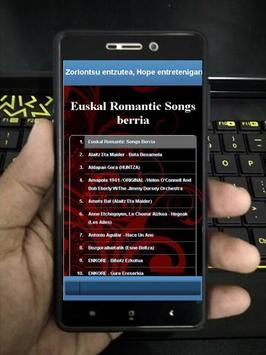 New Basque Romantic Songs apk screenshot